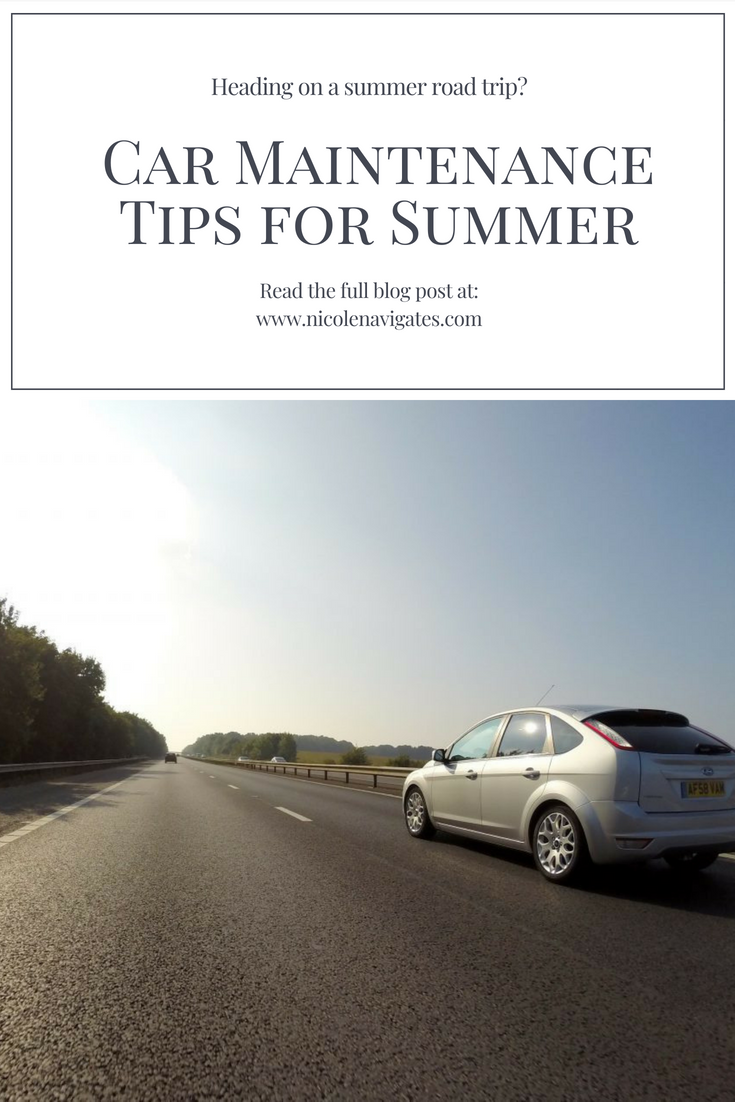 Car Maintenance Tips for Summer